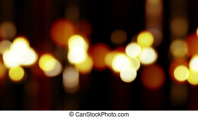 blurred lights abstract loopable background