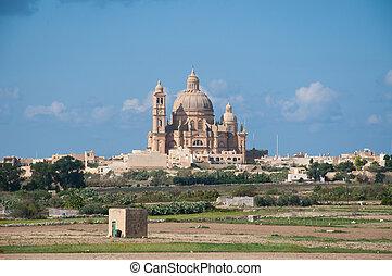 Ta' Pinu Church, Gozo, Mlata
