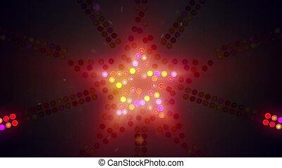 neon star sign flashing loopable - neon star sign flashing....
