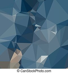 Cerulean Frost Blue Abstract Low Polygon Background - Low...