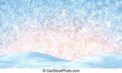 winter christmas background loopable