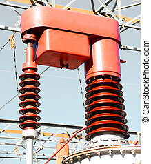 electrical devices in a power station for producing...