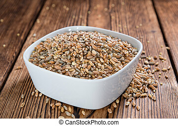 Cereals (wheat, rye, barley, oat and millet)