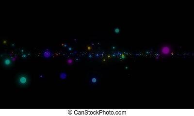 space spots color 4k