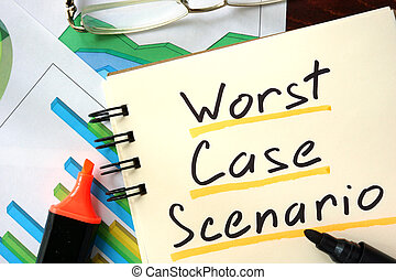 Worst case scenario - Notepad with Worst case scenario on...