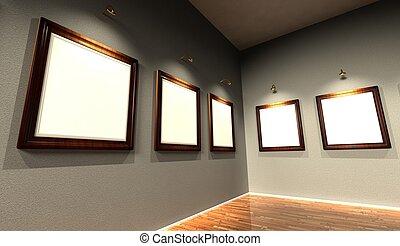 3d frames retro