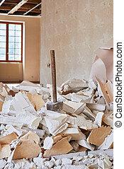 Hammer demolition material - Hammer demolition equipment