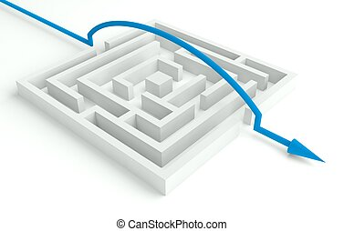 3d Maze Solved, Smart Solution