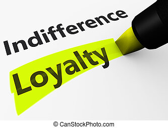 Business Loyalty Marketing Concept - Marketing and business...