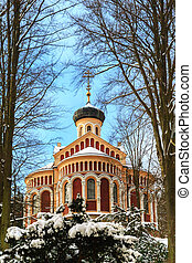 Spa resort Marianske Lazne - Russian church in spa resort...