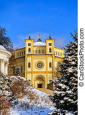 Spa resort Marianske Lazne - Church in spa resort Marianske...