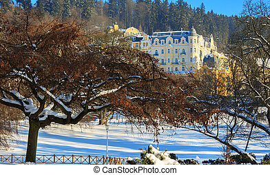 Spa resort Marianske Lazne - Famous spa resort Marianske...