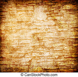 abstract yellow rock wall grunge background for multiple...