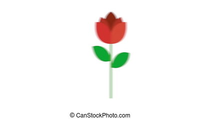 Happy valentines day design, Video Animation