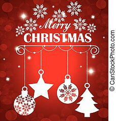 Merry christmas shopping season design, vector illustration...