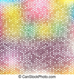 Blurred background with dots