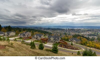 Time Lapse in Happy Valley Oregon - Ultra High Definition 4k...