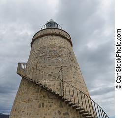灯台, 階段