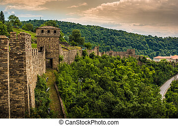 Veliko Tarnovo, the historical capital of Bulgaria