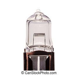 Halogen light bulb of car - Automobile light bulb isolated...