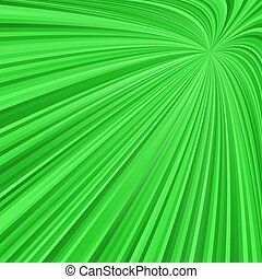 Green abstract ray burst background