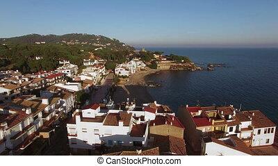 Mediterranean Village Aerial Shoot