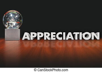 Appreciation Word Award Trophy Prize Employee Recognition -...