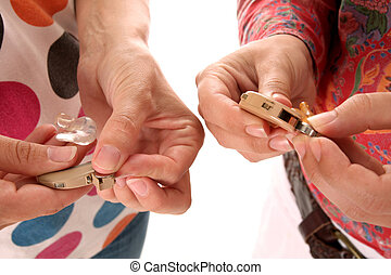 hearing aid and battery - details hearing aid and battery in...