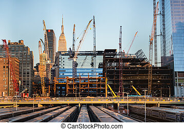 buildings under construction a - tall buildings under...