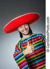 Mexican man with thumbs up