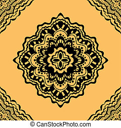 seamless yellow pattern. - art seamless yellow pattern....