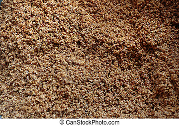 Malt Grain for Beer Making at Brewery - Malt grain and...