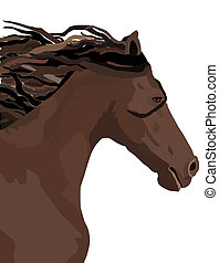 Brown Horse - The Brown Stallion