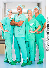 Surgeons in Hospital or clinic as team