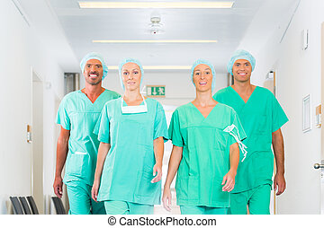Surgeons in Hospital or clinic as team - Hospital - medical...