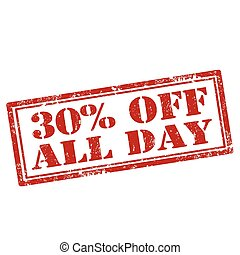 30% Off All Day