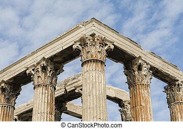 Templo, de, olympian, zeus,