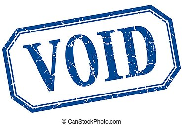 void square blue grunge vintage isolated label