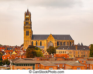 Saint Saviour's Cathedral in Bruges