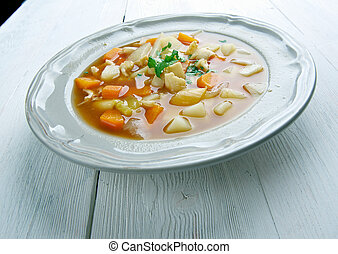 Red Conch Chowder - Bahamian Red Conch Chowder .Caribbean...