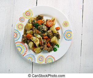 Kenyan Beef Stew Nyama Kenya African cuisine