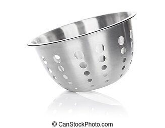 Colander Isolated on white background