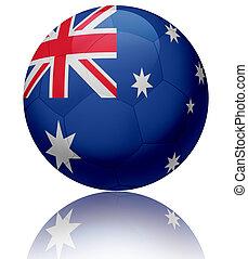 Australia flag ball