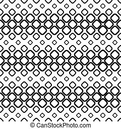 Seamless monochrome cobble stone pattern design background