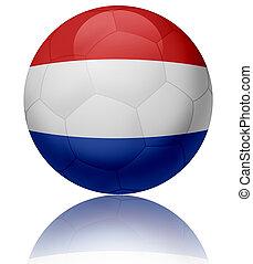 Netherlands flag ball