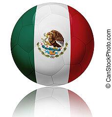 Mexico flag ball