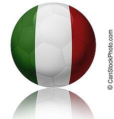 Italy flag ball