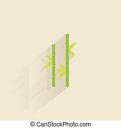 Abstract Spa Icon - Isolated spa icon on a colored...