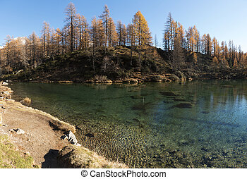 Lake of the witches in the mountains - Lake of the witches...