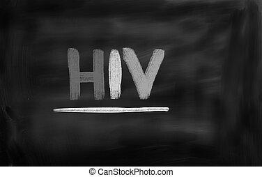 HIV/AIDS Concept
